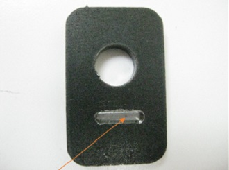 RFID Systems - Trovan ID100A in milled slot