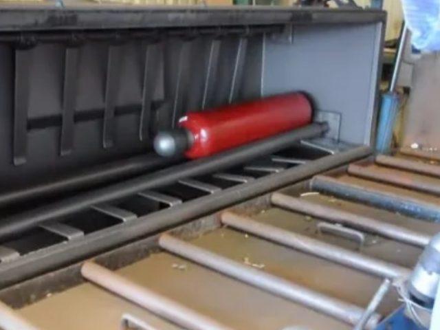rfid systems - trovan cylinder bead blasting